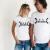 Set tricouri de cuplu Rule maker, rule breaker